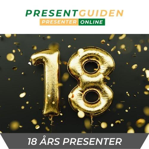 18 års presenter - Födelsedagspresent