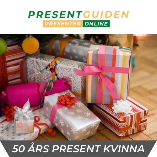 50 års present kvinna - Mamma, fru, syster