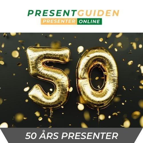50 års presenter - Födelsedagspresent