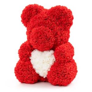 Björn av rosor - Romantiskt presenttips