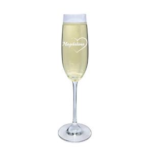 Champagneglas - Present till pojkvän & flickvän - Romantisk present
