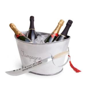 Champagnehink med sabel - Födelsedagspresent