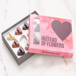 Choklad present - Istället för blommor