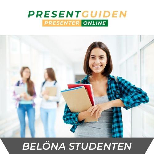 Därför ger vi studentpresenter 2021
