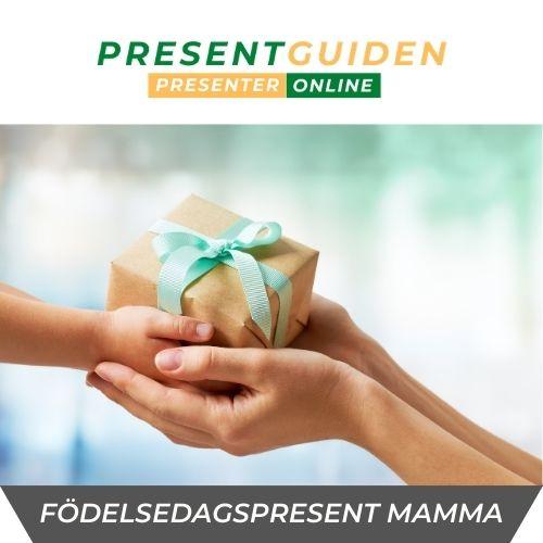 Födelsedagspresent mamma - 40, 50, 60 & 70 års present till mamma