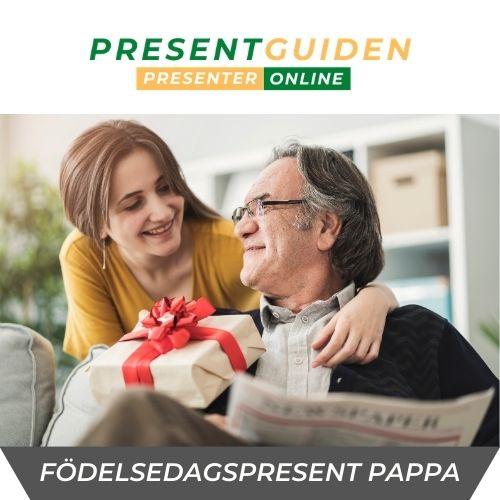 Födelsedagspresent pappa - Presenttips 40, 50, 60, 70 års present åt far