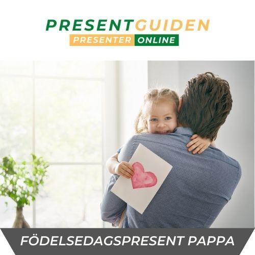 Födelsedagspresent pappa - Presenttips pappa kommer älska på sin födelsedag - 30, 40, 50, 60, 70 års present åt far