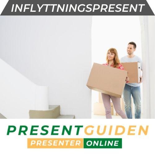 Inflyttningspresent - Tips till henne & honom - För hus & lägenhet