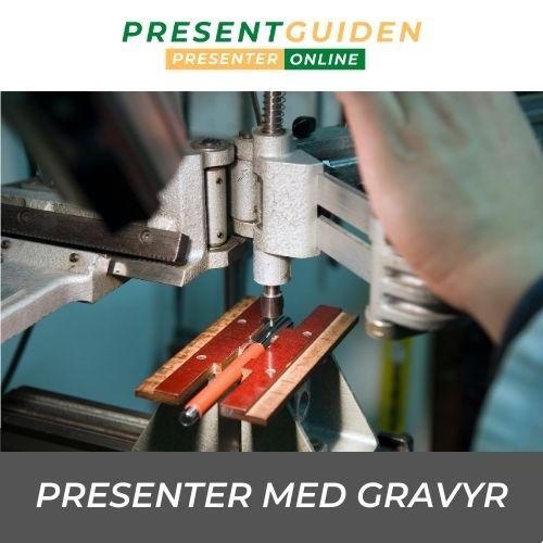 Gravyrpresent - Tips på graverade presenter - Personligt med gravyr
