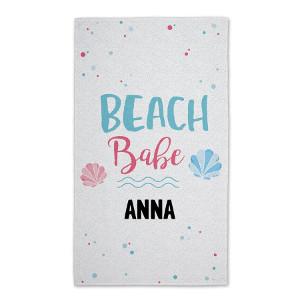 Strandhandduk med eget tryck - Personliga sommarpresenter