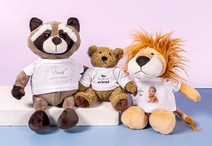 Personligt mjukisdjur present till barn & baby