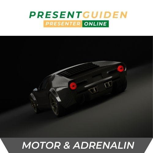 Motor & adrenalin - Upplevelsepresent för honom