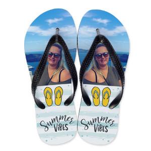 Personlig flip flops - Presenter för sommaren