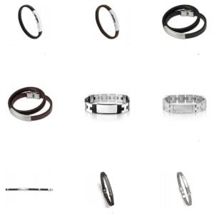 Personliga presenter - Armband med gravyr - Presenttips till honom& henne