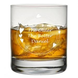 Personliga whiskyglas - Present till pappa, pojkvän, bror