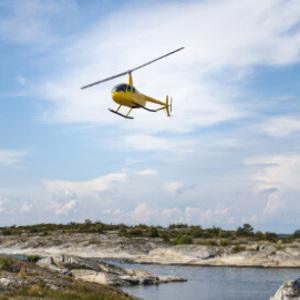Privat helikoptertur - Exklusiv upplevelsepresent