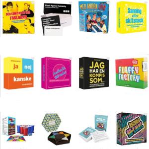Sällskapsspel - Presenttips spel