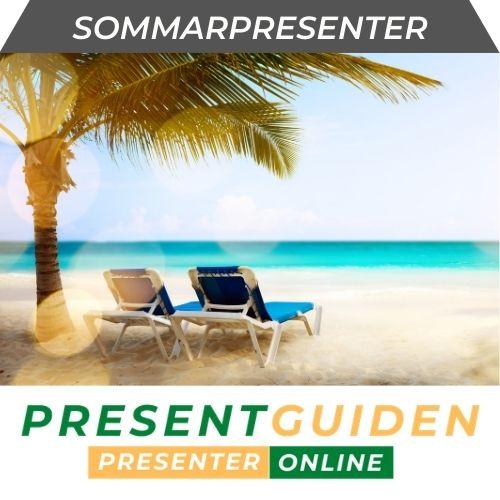 Sommarpresent - Somriga presenttips till lärare, personal & företag