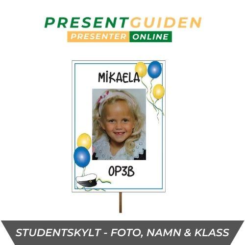 Studentskylt & studentplakat