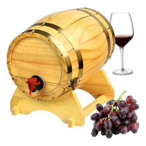 trätunna för vin - Vin presenter