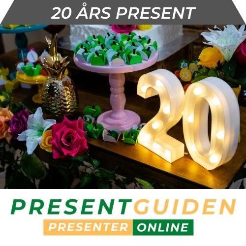 20 års present