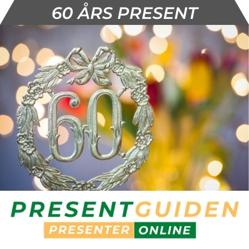 60 års present
