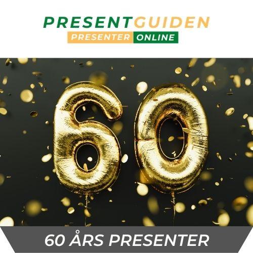60 års presenter - födelsedagspresent