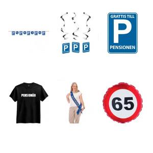 Dekoration till pensionär / pensionen