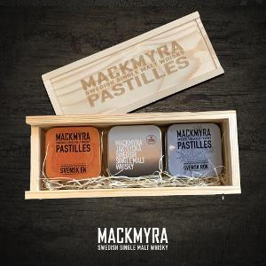 Mackmyra presenter - Pastiller med smak av whisky