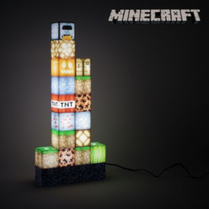 Minecraft lampa - Lysnade presenter
