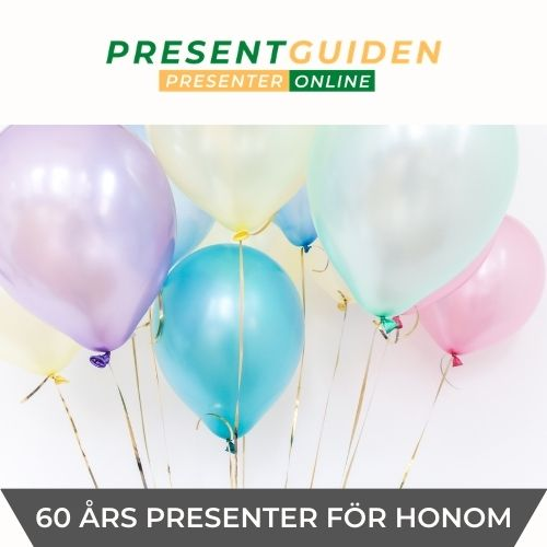 Pappa, honom, man - 60 års presenter