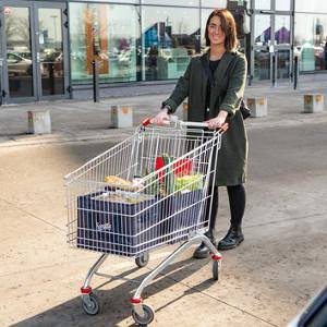 Shoppingväskor till kundvagn