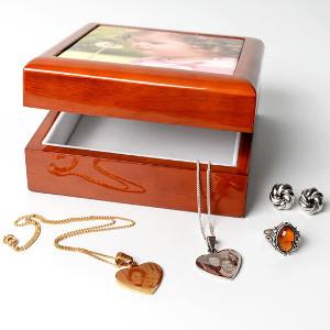 Smyckeskrin med foto
