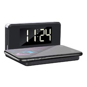 Trådlös mobilladdare & väckarklocka - Presenttips sovrum