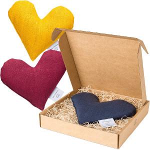 Värmehjärta med vete - Romantisk & kärleksfull present