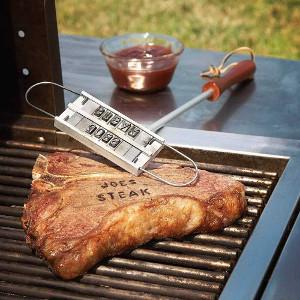 BBQ present - Brännjärn för grillad mat