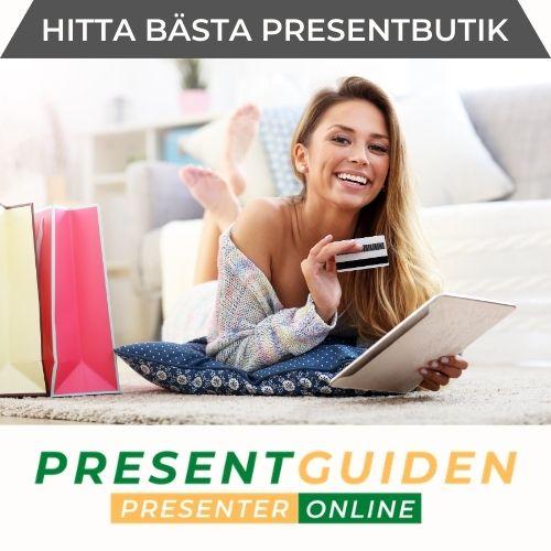 Hitta bra butiker med presenter på nätet