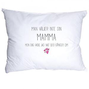 Örngott med fin text - Billig present till mamma