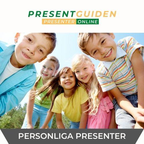 Personliga presenter till barn