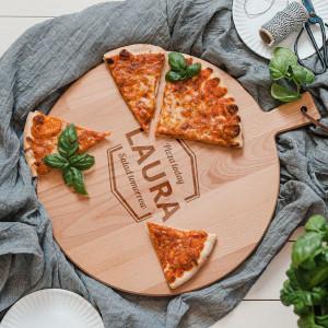 Pizzaplanka - Graverade presenter