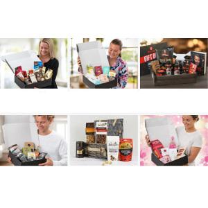 Presentlådor med godis och annat gott