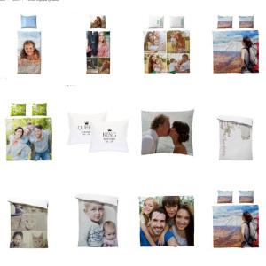 Sängkläder med egen bild & foto - Annorlunda personliga presenter