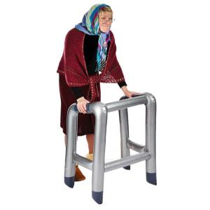 Uppblåsbar gåstol - Rolig present