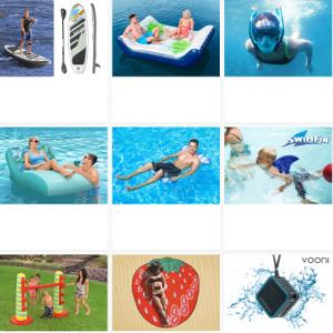 Vattenleksaker - Presenter till sommaren