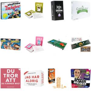 Festspel - Roligare presenter till kalas & fest