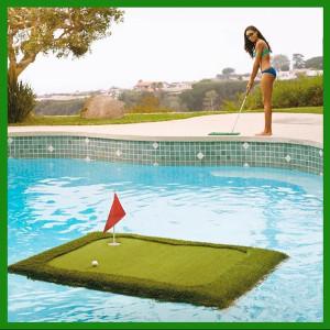 Floating golf - Presenter till golfspelare