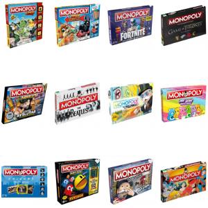 Monopol - Roliga spel för hela familjen