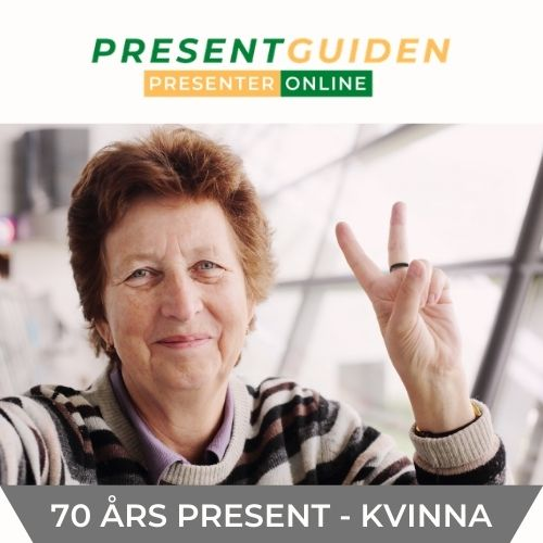 70 års present mamma - Hitta födelsedagspresenter 70 år kvinna