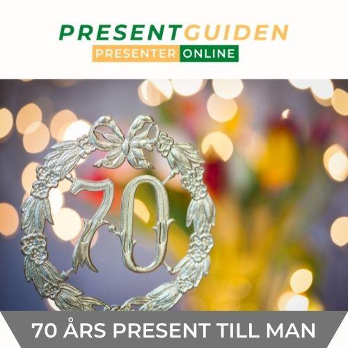 70 års present pappa - Presenttips till man som fyller 70 år
