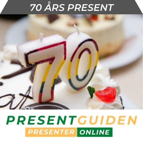 70 års present - Tips till man, kvinna som blir 70-åring